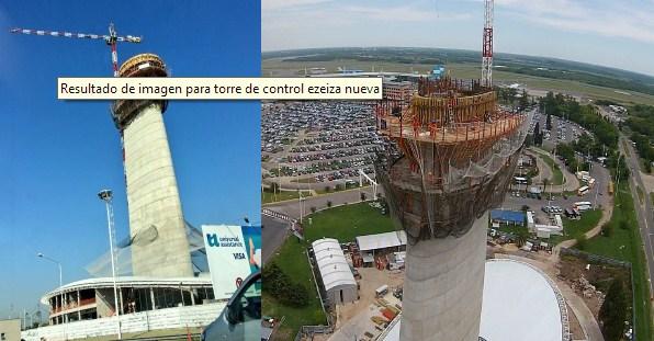 Fotografía 4. Nueva Torre de Control de Ezeiza